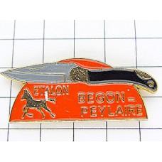 ピンズ・馬とナイフ刃物