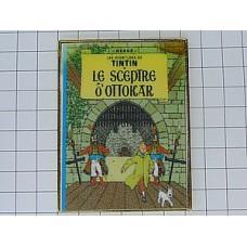 ピンズ・タンタン漫画『オトカル王の杖』