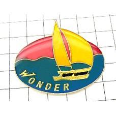 ピンバッジ・ヨット船ボート