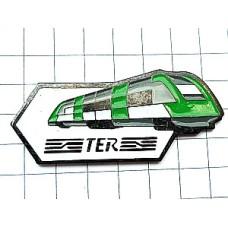 ピンバッジ・鉄道TER緑の車両