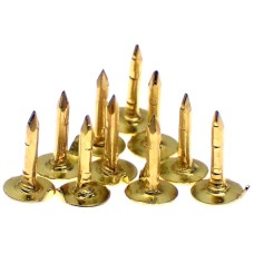 ピンバッジの針ピンズ用金色10本セット