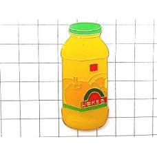 ピンズ・オレンジジュース瓶