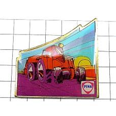 ピンズ・トラクター車と太陽