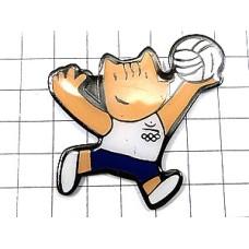 ピンバッジ・バルセロナ五輪コビのバレーボール