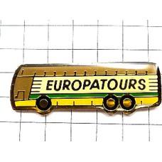 ピンバッジ・ヨーロッパツアー車バス
