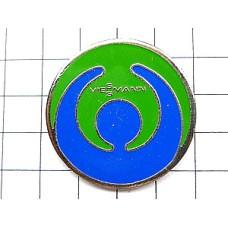 ピンバッジ・青い人の作る輪