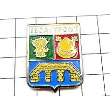 ピンズ・小麦や橋の紋章