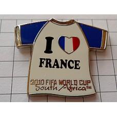 ピンバッジ・フランス大好きワールドカップ大会