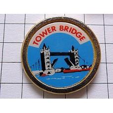 ピンバッジ・ロンドン塔と橋イギリス英国