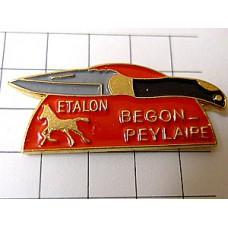 ピンズ・馬のマークのナイフ一本