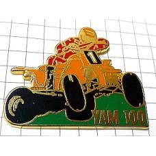 ピンバッジ・ヤマハのカート車レース