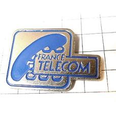 ピンズ・青い電話の受話器