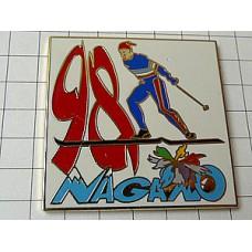 ピンズ・長野五輪スキー選手